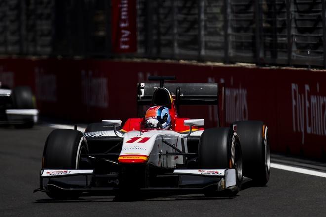 campos racing f2 baku azerbayan