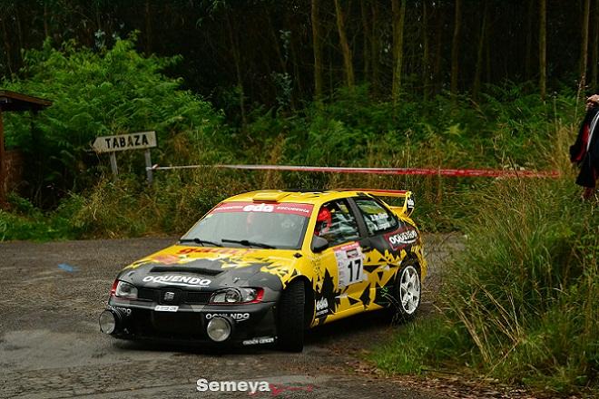 Aldo de Alberto el más rápido en el Rallye de Avilés Histórico