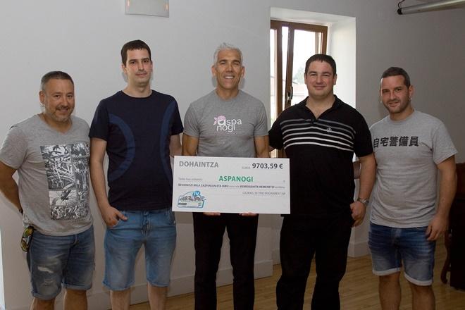 Ikullu Racing aspagoni donacion