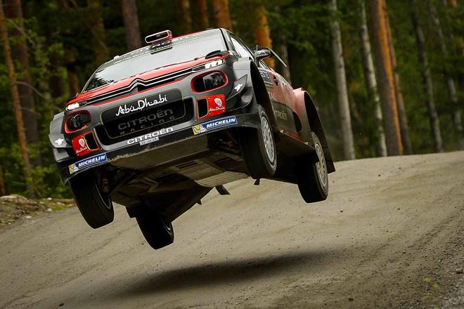 ► WRC: Meeke el más rápido en el Shakedown de Finlandia