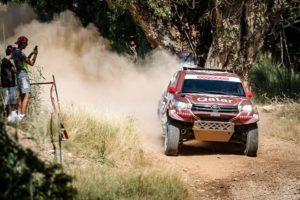 Al-Attiyah ganador de la Baja Aragón tras vencer en la etapa final