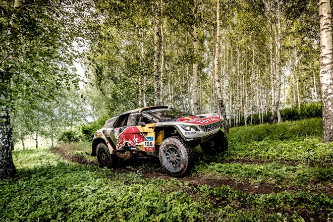Peugeot 3008 DKR Silk Way Rally