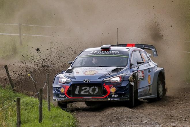 Rallye Polonia WRC Neuville Hyundai i20