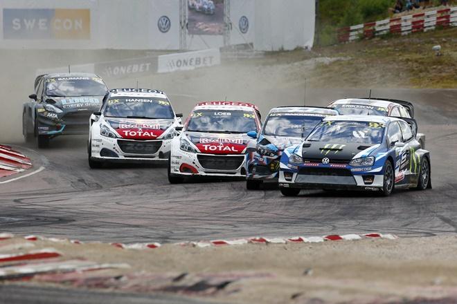 ► WRX: Johan Kristoffersson lo gana todo en Suecia
