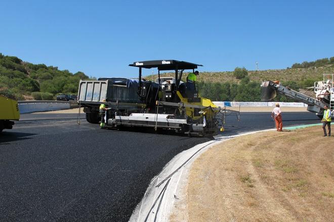 El Circuito de Jerez se reasfalta