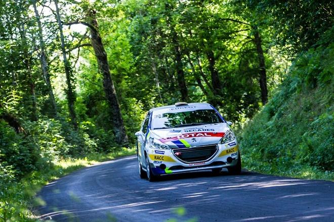 llarena peugeot 208 cup rallye rouergue