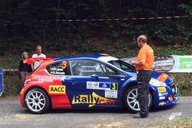 ► ERC: Pepe López y Borja Rozada segundos en el Rallye Lëtzebuerg