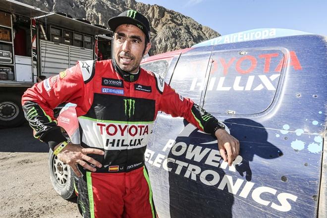Nani Roma regresa con Toyota a la Baja Aragón