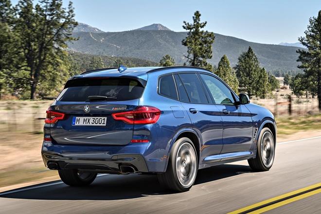 BMW X3 M40i 2017, fotografías generales