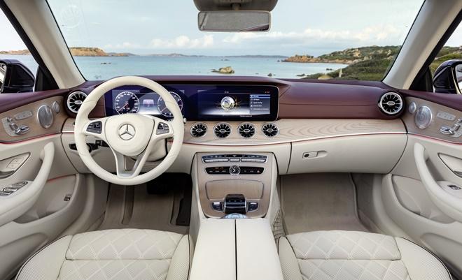 Mercedes E Cabrio 2017