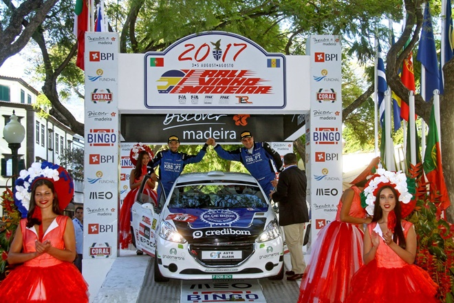 RaceSeven Madeira podio Paulo Moreira 208 R2