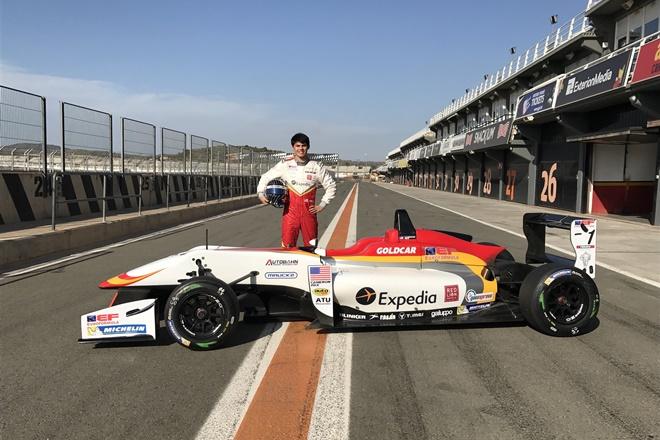 El Campeón de la F4 EEUU Cameron Das se une a Campos Racing en la Euroformula F3 Open