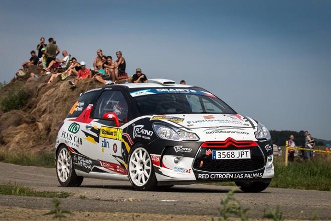 ▬ Emma Falcón gana el Ladies Trophy en el Barum Rallye