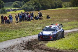 Dani Sordo vencedor de la Power Stage de Alemania, Rallye ganado por Tanak