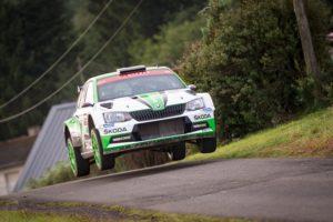 Pontus Tidemand logra el Campeonato de WRC2 tres pruebas antes del final