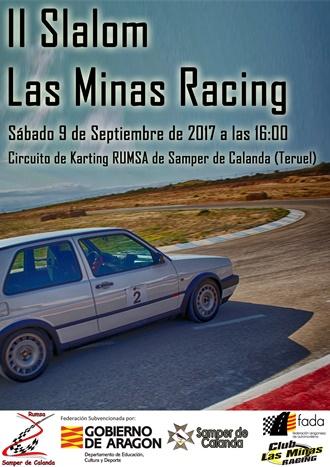 Cartel Slalom Las Minas Racing