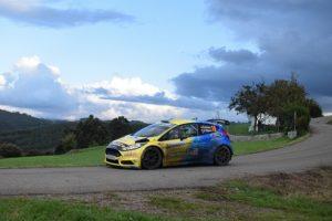 Óscar Palacio en el Rallye Princesa de Asturias