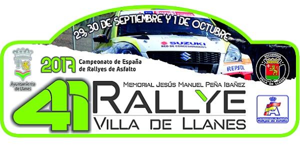 Placa Rallye Villa de Llanes