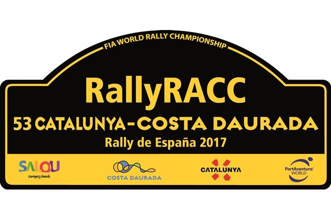 Placa rallye espan cataluna 2017