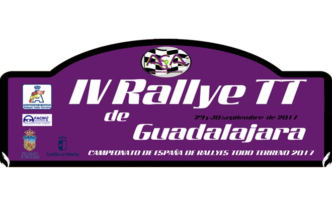 Placa Rallye TT Guadalajara 2017