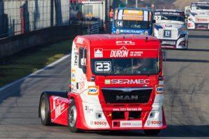 Camiones: Doble podio de Antonio Albacete en el Circuito de Zolder