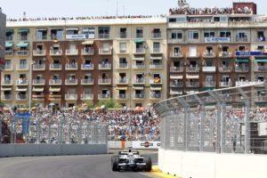 Los boxes de la Fórmula 1 de Valencia salen a subasta