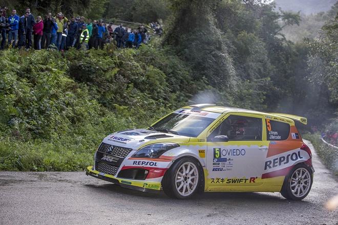 A Joan Vinyes-Jordi Mercader se les atravesó el Rallye Princesa de Asturias