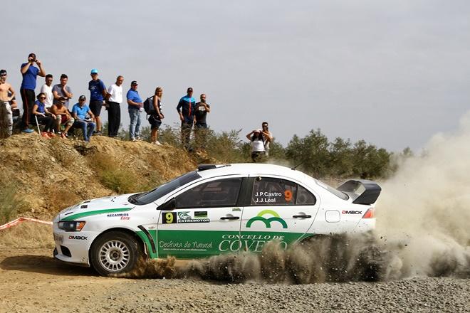 Castro Leal Mitsubishi Evo Rallye Extremadura