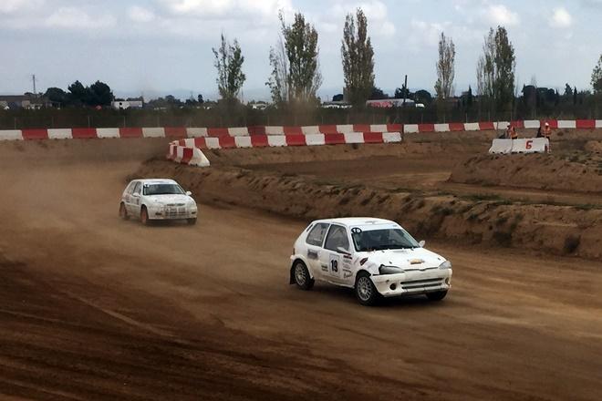 Exitoso debut del Circuito de Esplús en el Campeonato de España de Auto-Cross