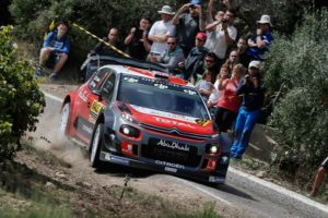 Kris Meeke Rallye citroen c3 wrc España