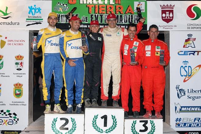Extremadura-podio mitsubishi