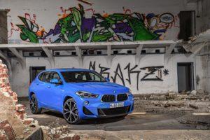 BMW X2 2018, avance de fotografías
