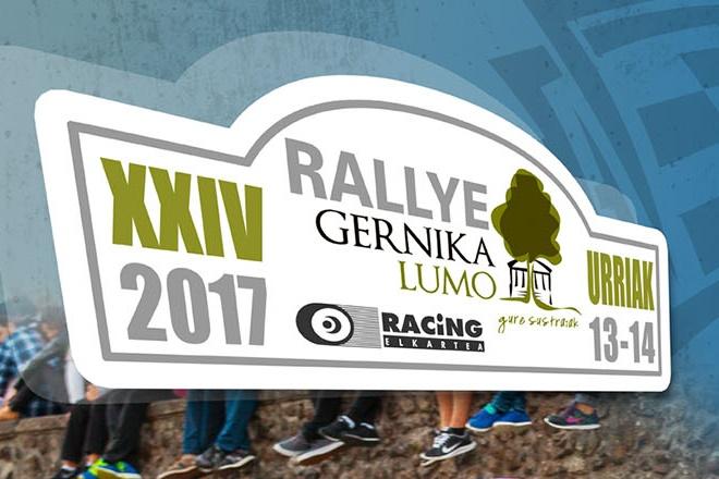 cartel rallye Gernika-Lumo