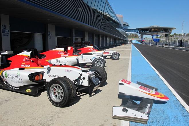circuito jerez box campos racing