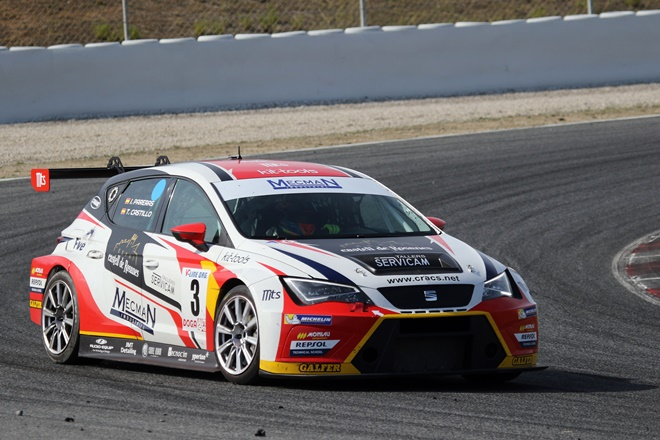 pareras cer montmelo seat leon cup racer tcr