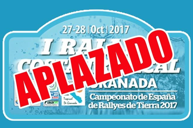 placa aplazado rallye de granada 2017