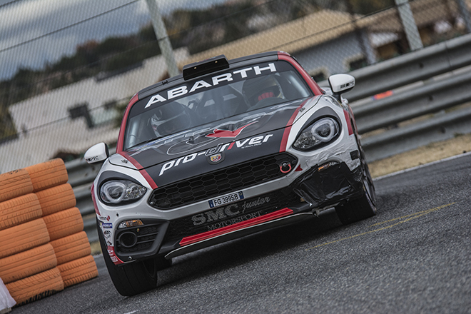 Alvaro Muñiz - Abarth 124 Rallye - Rally CAM 2017