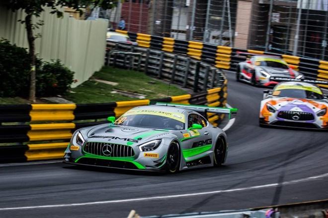 Macao Dani Juncadella Mercedes GT