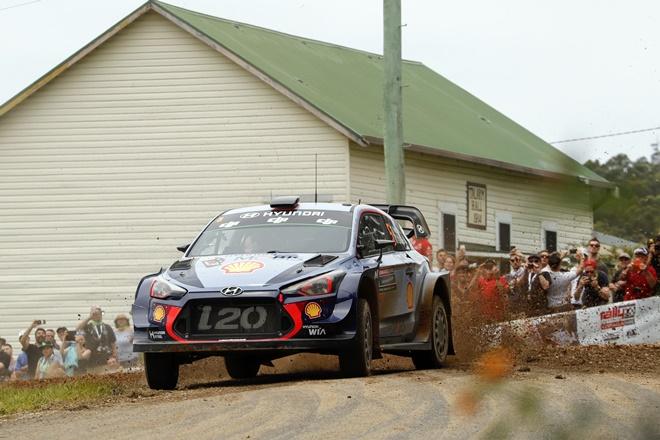 ► WRC: Neuville vence en Australia y logra el Subcampeonato