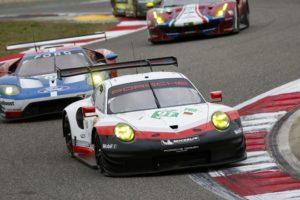 Porsche gt-pro wec shanghai