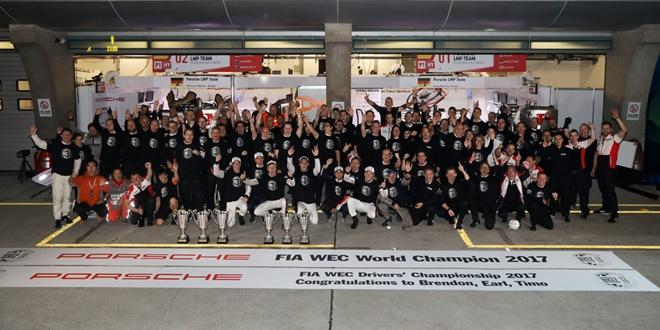 WEC Porsche equipo Shanghai