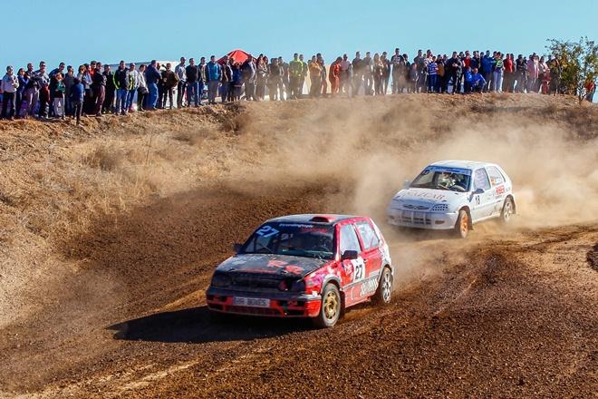 Carlos Arco y Pablo Subías vencedores en el XVI Autocross de Aguaviva