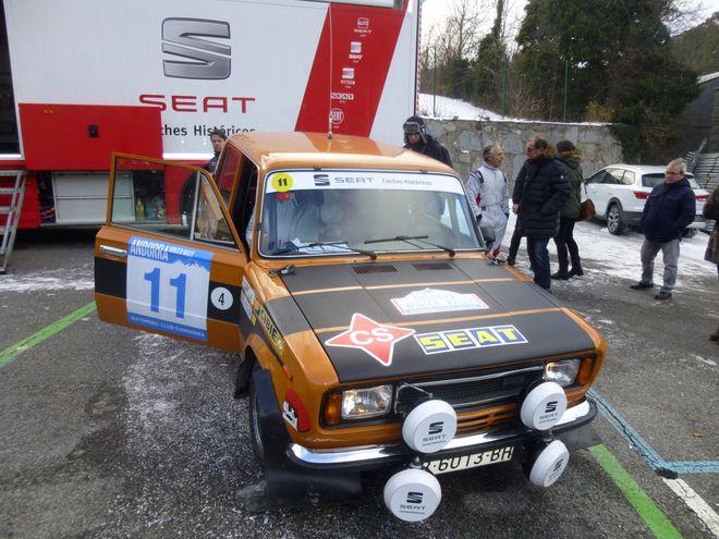 Andorra Winter Rally cañellas-ferrater