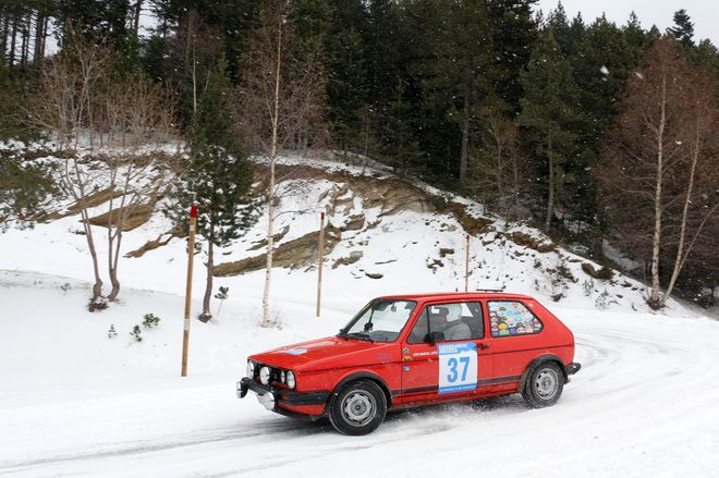 Andorra Winter Rally lopez-ferrer golf gti
