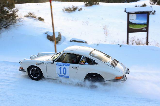 Andorra Winter Rally nogareda-giralt porsche 911
