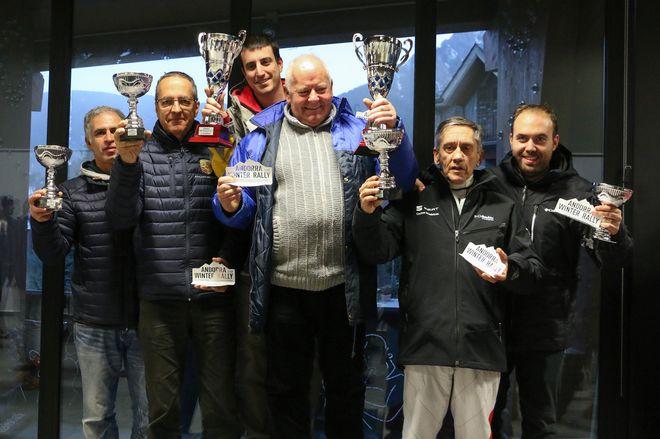 Andorra Winter Rally podio final
