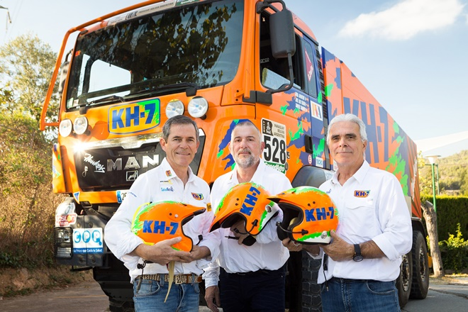 Camion Dakar 18 kh7 juvanteny criado tamayo