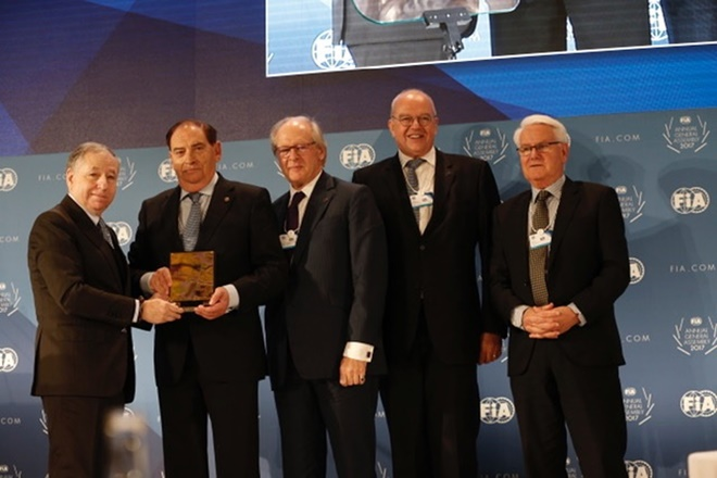 Carlos Gracia Presidente Honor FIA 2017