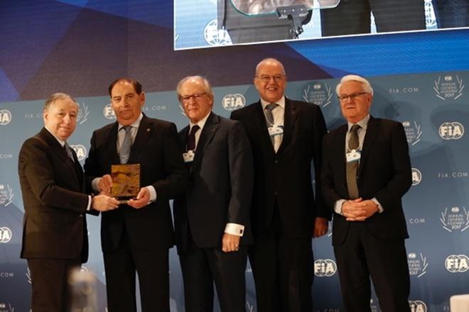 Carlos Gracia Presidente Honor FIA 2017