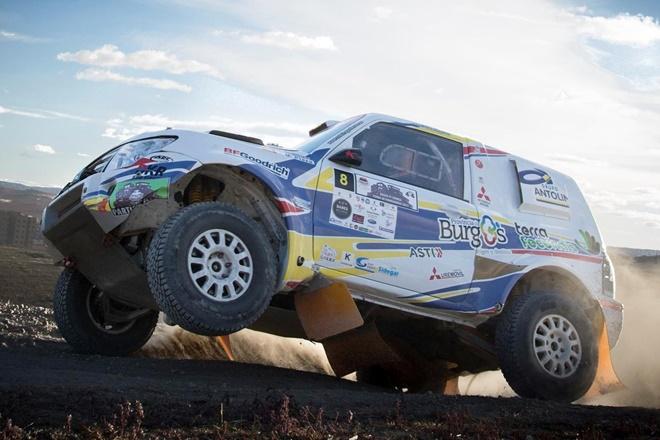 Cristina Gutierrez Mitsubishi Montero Dakar 2018